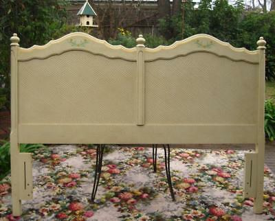Stunning Vintage French Provincial Queen Size Bedhead