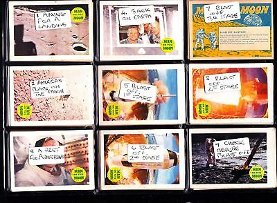 Man On The Moon A&BC GUM CARDS 1969...Pick your own