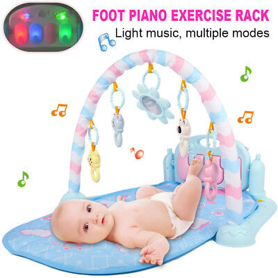 Good Activity Soft Fitness Gym Mat Baby Built Rack Lullaby Playmat Musical Piano