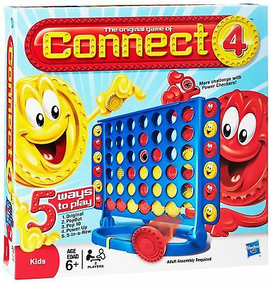 New Connect 4 Join 4 In A Row Family Fun Board Game Children Kids Party Game