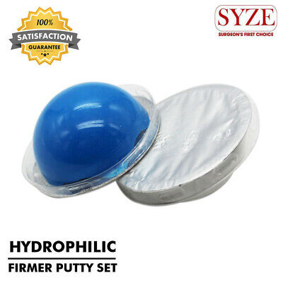 Dental Soft Impression Material Hydrophilic Firmer Putty 2 Pcs Disposable Set