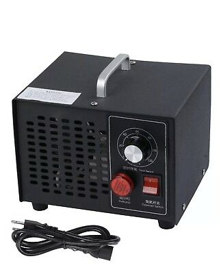 220V YJF101 Household Ozone Generator 3500mg Air Black Purifier Deodorizer 50W