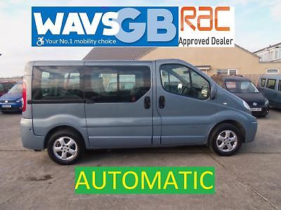 Renault Trafic Sport Auto Wheelchair Access Vehicle Disabled WAV