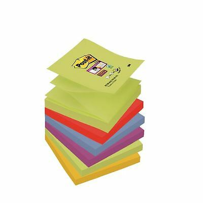 Post-it Super Sticky Z-Notes 76 x 76mm Marrakesh Collection [3M40129]