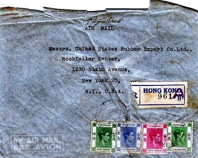 Hong Kong stamps- old covers