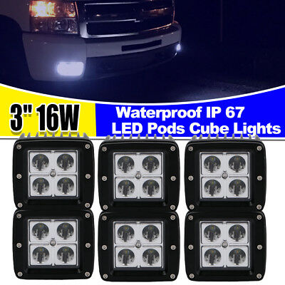 For 2017 2019 Ford F 150 96w Fog Led Light Bar Lower Bumper