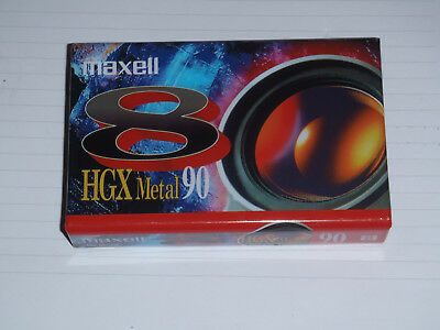 Cassette Pour Camera  Maxell 8 Hgx Metal 90