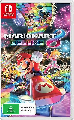 Nintendo Switch Mario Kart 8 Deluxe Game *BRAND NEW- FAST SHIPPING*