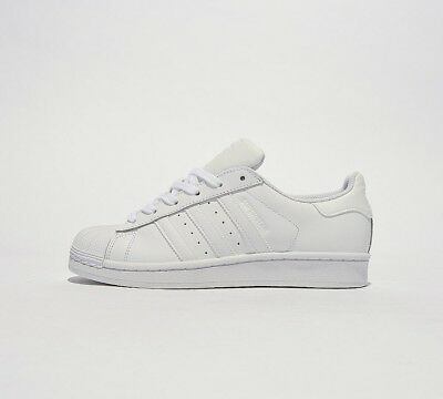 Junior Adidas Superstar Foundation Trainers White (SF32) RRP £49.99