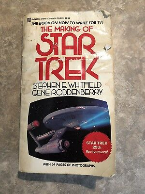 THE MAKING OF STAR TREK - First Edition, 27th Printing