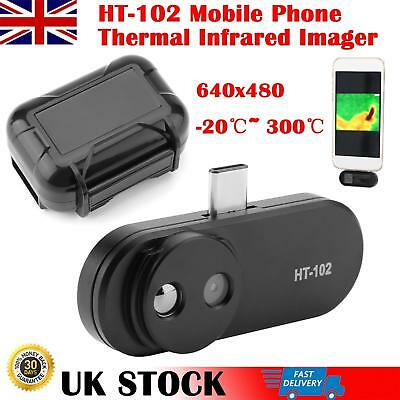 HT-102 Mobile Phone Thermal Infrared Imager Support Video and Pictures 640x480