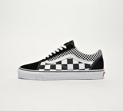 670a13ae442 Mens Vans Old Skool Mixed Check Black White Trainers (SF32) RRP £59.99