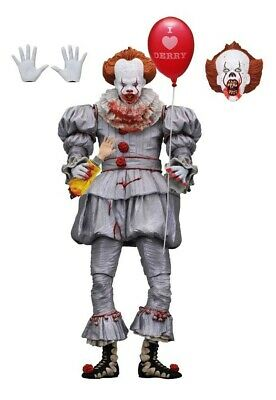 IT 2017 PENNYWISE Neca Ultimate Action Figure (I Love Derry) Stephen King Clown