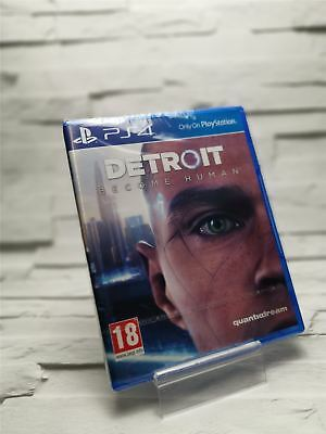 Detroit Become Human For PS4 (New & Sealed)