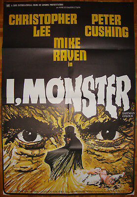 I, Monster-Amicus-Peter Cushing-Christopher Lee-Horror-Jekyll & Hyde-OS English