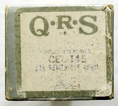 """GEORGE SHEARING """"I'll Remember April"""" QRS CELEBRITY SERIES CEL-145 [PIANO ROLL]"""