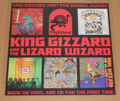 King Gizzard and the Lizard Wizard Poster Original Promo 24x24 Album Covers