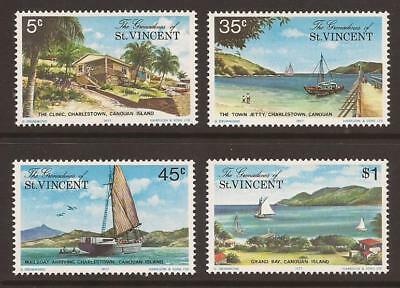 GRENADINES OF ST VINCENT 1977 SG106/9 Canouan Island (1st Ser.) Set MNH (JB4969)