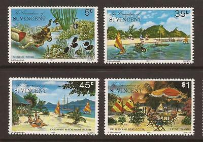 GRENADINES OF ST VINCENT 1977 SG100/103  Prune Island Set MNH (JB4968)