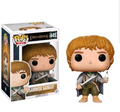 Pop! Movies: Lord Of The Rings - Samwise Gamgee FUNKO #445 Glow in Dark