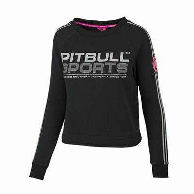 Pit Bull Crewneck Athletica Black Sweatshirt Pitbull