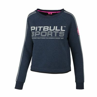 Pit Bull Crewneck Athletica Navy Sweatshirt Pitbull