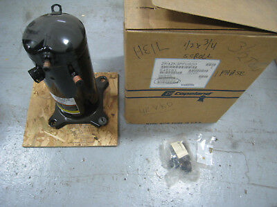 New Copeland ZR42K3-PFV-830 Compliant Scroll Compressor 208-230V 1PH