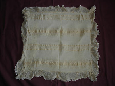 #419 Beautiful Vintage Handmade Pillowcase  60cm/56cm(24''/22'')
