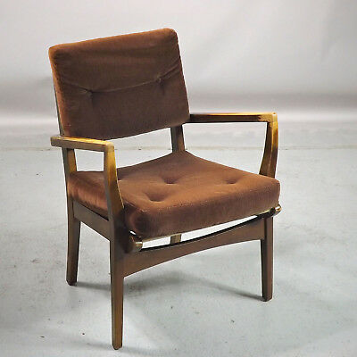Small Vintage Lounge Chair Mid Century Retro (delivery available)