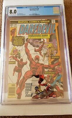 Marvel Daredevil #139  CGC 8.0