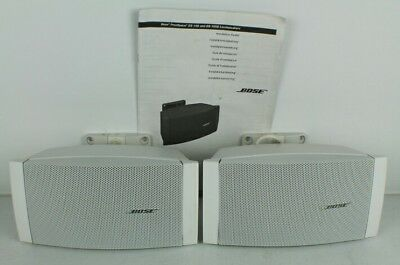 Bose Freespace DS-16S Loudspeakers White Pair