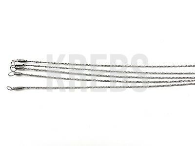 Gigli Saw Wire 21.5'' (55cm) Length (Set of 5) Orthopedic, Neuro Instruments
