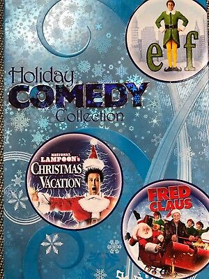 Holiday Comedy Collection: Elf/National Lampoons Christmas Vacation/Fred Claus