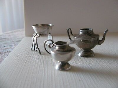 STERLING SILVER LOT miniatures