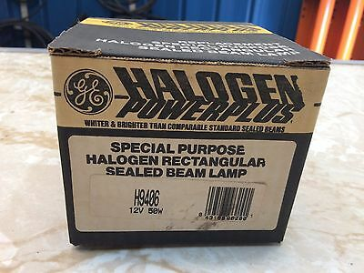 GE Halogen Powerplus H9406 Sealed Beam Floodlight 150mm 12V 50W - New
