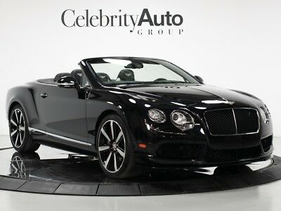 "2014 Continental GT V8 S ""Launch Specification""  $242K MSRP"