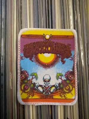 GRATEFUL DEAD PATCH Original 80er Vintage Aufnäher 8x10cm Psychedelic Rock Blues
