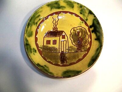 Breininger Pottery Redware Farm House Bowl