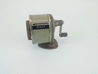 Vintage Sanford Giant Pencil Sharpener Mountable School Wall or Desk