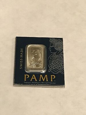 Pamp Suisse 1 Gram .999 Platinum Fortuna In Assay Card
