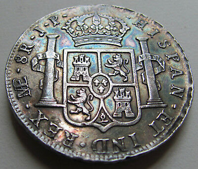 """1810 Peru 8 Reales """"Imagined Bust"""""""