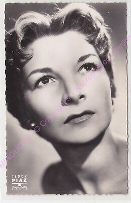 CPSM RPPC STAR COLETTE MARCHAND PHOTO TEDDY PIAZ Edt DU GLOBE 217