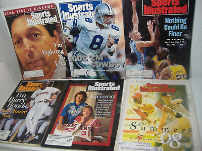 Lot Of 39 Sports Illustrated Issues 1993-1994
