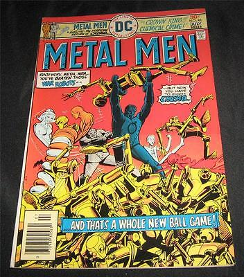 Metal Men # 46 (July 1976) VF 8.0 30¢ Cover, Bronze Age, DC Superman