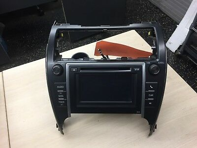 13 2013 14 2014 Toyota Camry Radio Stereo Receiver CD Player Display Screen OEM