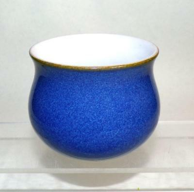 Denby Pottery Imperial Blue Pattern Open Sugar Bowl made in Stoneware