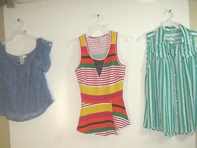 Wholesale Lot of 3 Women's Tops / Blouses - Various Sizes