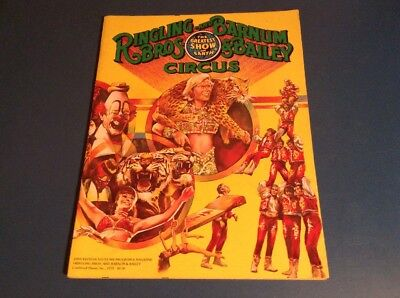 Ringling Brothers & Barnum & Bailey Circus Program ~ #109 ~ 1979