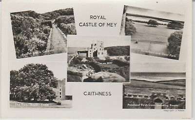 Scotland - Royal Castle Of Mey - Caithness  - Real Photo  Postcard #  18857