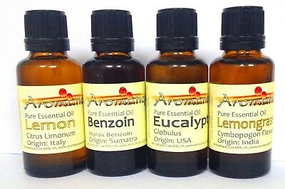 Aromatique 100% Pure & Natural Essential Oil 10ml - Fully Certified Aromatherapy
